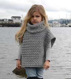 Aura Pullover Crochet pattern by The Velvet Acorn Knitting For Kids, Crochet For Kids, Knitting Projects, Baby Knitting, Crochet Baby, Crochet Projects, Knitting Patterns, Knit Crochet, Lace Knitting