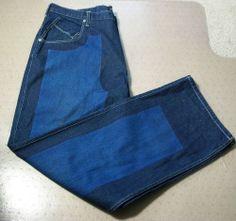 Sean John Mens Blue Denim Baggy Fit Cotton Fashion Jeans Size 42X35 #SeanJohn #BaggyLoose