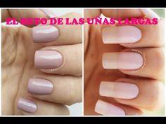 El reto de las uñas largas - Long nails challenge - YouTube