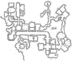 [Friday Map] Screaming Hall of the Ur-Goblin