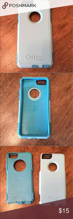 iPhone 6 Case OtterBox Dual Colors Light Blue Good Condition; lightly used. OtterBox Case for iPhone 6. 2 Piece Case. No stains. No flaws. Offers excepted! Trades OtterBox Accessories Phone Cases