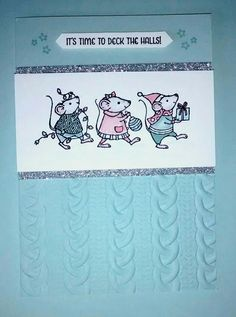 Stampin' Up Merry Mice