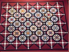 Sallie's quilt pattern by Bonnie Blue Quilts