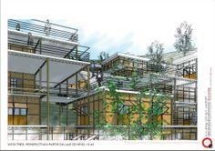 habitação estrutura tensionada aço - Pesquisa Google
