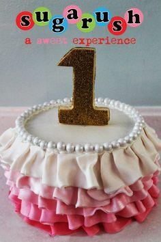 Tutu cake if it's a girl!