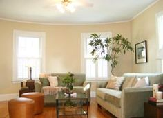 Beautiful living room. If you're interested in home staging, click a little further!