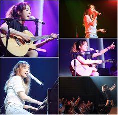 """Younha! Theater Concert """"Summer"""" Official Photo   Cr : younha_garden"""