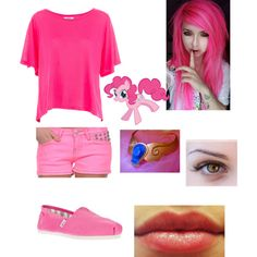 """Pinkie Pie Costume!!~"" by patches2299 on Polyvore"