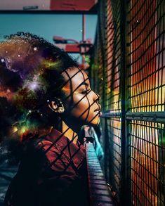 Des paysages dans des coiffures afro par Pierre JeanLouis  2Tout2Rien