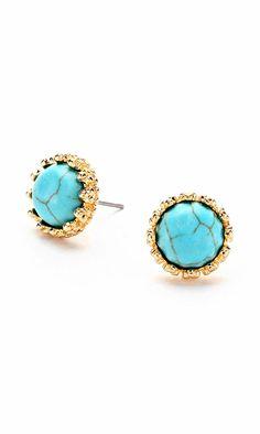 Turquoise Dotti Earrings