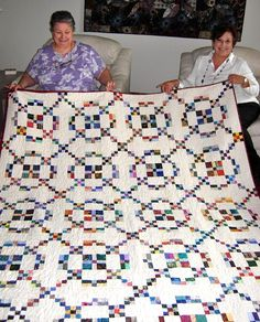Postage Stamp quilts - Google Search