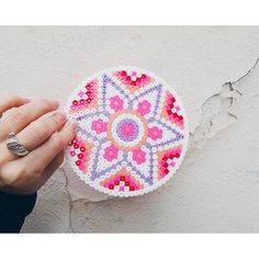 Mandala hama beads by masha_latte