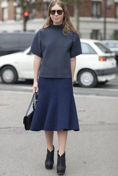 Best Street Style Paris Fashion Week Spring 2014   Pictures   POPSUGAR Fashion