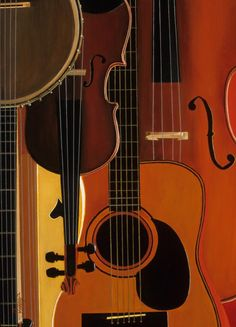 Banjo, Mandolin, Guitar, Base
