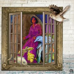 https://flic.kr/p/Z3RzBq | WHAT'S OUT THERE? |   For The Three Muses: window. Elements from Chili Designz, Janu, Gabi, Altered Amanda, Weeds and Wildflowers, Antique Images, Beth Rimmer, DKerkhof, Etc. by Danyale, itKuPiLLi, Manu, and Tangie Baxter.   Detailed credits in comment.
