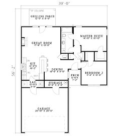 Gorgeous Brick Home Plan - 59588ND   1st Floor Master Suite, CAD Available, PDF, Traditional   Architectural Designs