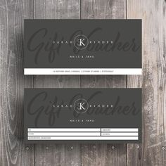 53 Likes, 13 Comments - Design Gift Certificate Template, Gift Certificates, Branding Design, Logo Design, Graphic Design, Layout Design, Print Design, Gift Voucher Design, Business Stationary