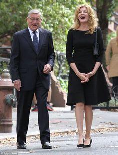 the intern - de niro in specs rene russo