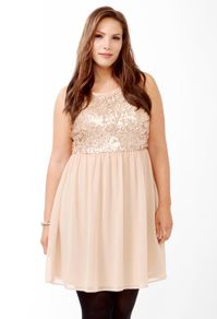 Plus Size Dresses: cocktail dresses, party dresses   Forever 21... This dress is more beautiful in person