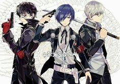 Persona Protagonists Yu, Minato, P5 Protagonist