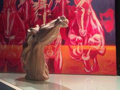 IL CHIARO E LO SCURO - SCULTURE di  Miriam Stefanelli: ARIA