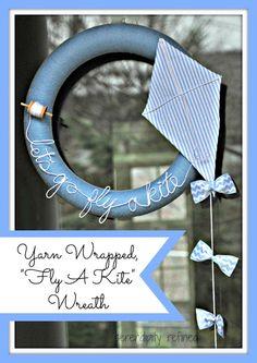 http://1.bp.blogspot.com/-_y0TiaaXDDE/UWdLTrheaOI/AAAAAAAAJa8/SU467JoiqaM/s640/Spring+Summer+Blue+and+White+Yarn+String+Let's+Go+Fly+A+Kite+Wreath+DIY+Make+12.jpg