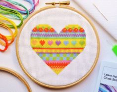 Cross Stitch Kit For Beginners Tutorial by theworldinstitches