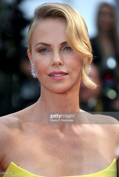Charlize Theron attends Premiere of 'Mad Max: Fury Road' during the 68th annual Cannes Film Festival on May 14, 2015 in Cannes, France.