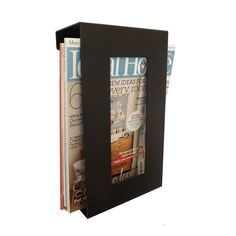 Contemporary+Magazine+Rack+by+TheMetalHouse+on+Etsy