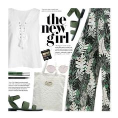 """""""Casual"""" by beebeely-look ❤ liked on Polyvore featuring Christian Dior, Paul Andrew, RéVive, MAC Cosmetics, Gucci, casual, beachday, sammydress, eyelet and staycation"""