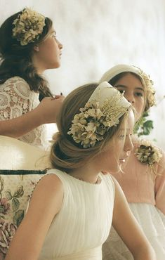 Baby Girl Hairstyles, Headband Hairstyles, Girls Hair Accessories, Wedding Hair Accessories, Ballerina Hair, Vintage Headbands, Hair Decorations, Flapper Headpiece, Headdress