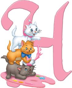 H Aristocats Alphabet (Oh My Alfabetos!)