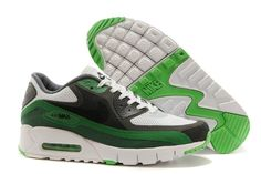 buy online d181d 43b67  80.54 Nike Air Max 2015 Mens Shoes 90 Br Releases White Green Dark Gray  New