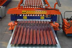#Color #steel #sheet Features have ⒈ light weight ⒉ good thermal conductivity ⒋ high ⒋ bright color ⒌ flexible and quick installation. if you need the color steel sheet roll forming machine , pls contact with me . I can provide any profile sheet roll forming machine  .  Corrugated steel sheet Roll forming machine   consists of feeding, forming, after molding, products smooth appearance beautiful appearances, uniform lacquer veins, high strength, durable.