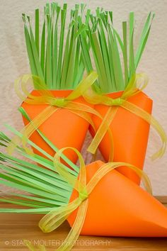 DIY Easter Carrot Treat Box