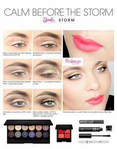 Sleek Storm Eyeshadow Palette doar pe http://www.makeupshop.ro