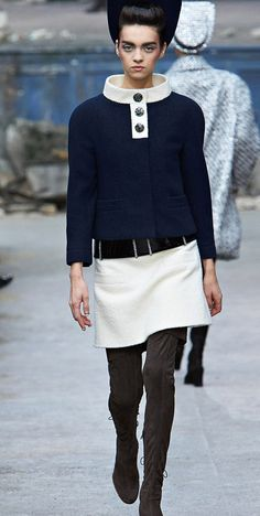 Chanel Haute Couture - 2013/2014 Fall-Winter Parade - Karl Lagerfeld♠