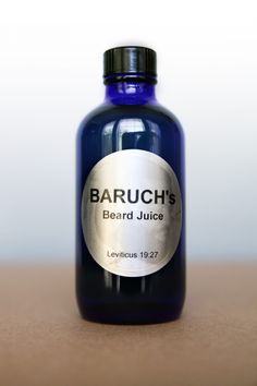 Man your Beard with Baruch's Beard juice. Leviticus 19:27 40z 0f natural essentials oils with collectively stimulates hair growth meanwhile enhances t ...