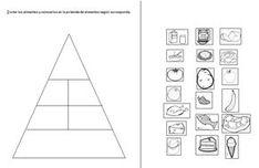 Food Worksheets, Cut & Paste Activities, Food Pyramid
