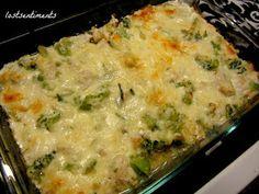 lostsentiments: Chicken and Broccoli Cheesy Casserole - Low Carb Recipe