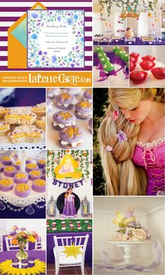 ¡Rapunzel ya está en La Belle Carte! Esta divertida y carismática princesa, de Disney, es la protagonista de nuestro Cumpleaños del día. De seguro, ya la conocéis por su larga y mágica melena. Decorad con nosotros esta bonita fiesta, enviad las Invitaciones Infantiles y no olvidéis llevar vu