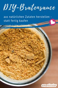 Wer braucht schon künstliche Aromen und andere Zusatzstoffe – mit diesem einfac… Who needs artificial flavors and other additives – with this simple recipe you can easily make your own stirring powder for dark sauces. Detox Recipes, Healthy Recipes, Sauce Béarnaise, Sauces, Low Carb Chicken Recipes, Cooking Ingredients, Saveur, Easy Cooking, Good Food