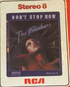 The Brothers Don't Stop Now Sealed Disco Funk 8-Track Tape by RASVINYL on Etsy