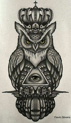35 Traditional Owl Tattoo Meaning - 35 Traditional Owl Tattoo Meaning tattoo drawing paintings search result at paintingvalley simple - Tribal Owl Tattoos, Leg Tattoos, Body Art Tattoos, Sleeve Tattoos, Tattos, Tattoo Designs, Owl Tattoo Design, Tattoo Ideas, Drawing Designs
