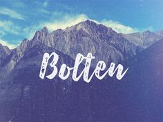 Bolten is a modern and clean free Font design. You can choose which one that fits in any designs you're currently working on: signage, poster, t-shirt design.