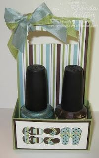 The Stampin' Bunny: Nailpolish Holder Tutorial