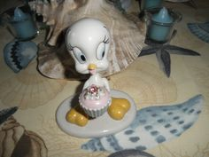 This little white Tweety was given to me by Joyce Minnick, a collector, she gave it to me for my birthday in 1996
