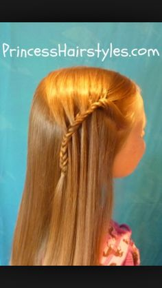 Cute waterfall fishtail.