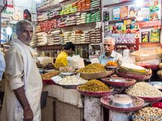 Smell fresh spices on the streets of India