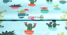 Stenzo17 3626-99 Tricot cactus licht turquoise